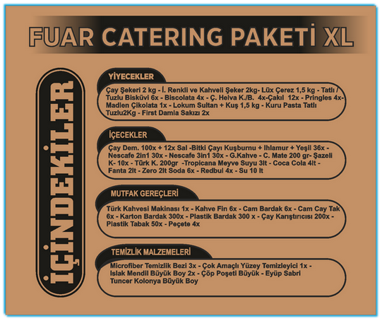 Fuar Catering X-Large